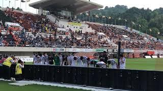2019.5.12 川崎フロンターレ対清水エスパルス 川崎フロンターレの勝利後...