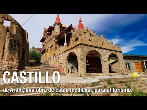 El Castillo de Arani, una obra de estilo medieval, para el turismo.