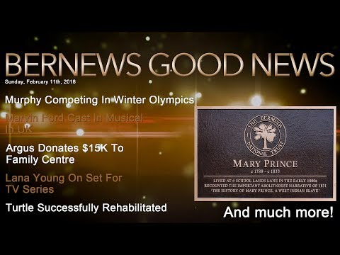 "Bernews ""Good News"" Sunday Spotlight, February 11, 2018"