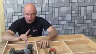 видео Стол для дачи своими руками: конструкция, чертежи, порядок сборки