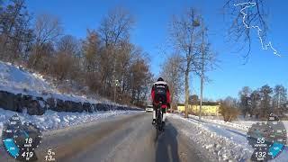 CX i vinterlandskap med SUMO - 180121