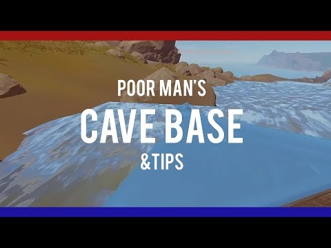 RUSTㆍHow To Make A Poor Man's Cave & TIPs