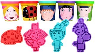 Ben and Holly 39 s Little Kingdom Play Doh Molds with Princess Holly Ben Elf Wise Old Elf Nanny Plum
