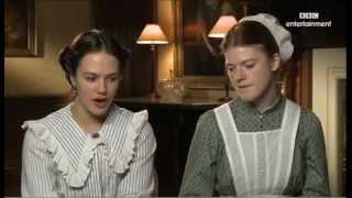 Video Jessica Brown Findlay and Rose Leslie Downton Abbey Interview download MP3, 3GP, MP4, WEBM, AVI, FLV Desember 2017