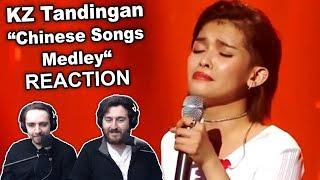 """KZ Tandingan - Chinese Songs Medley"" Singers Reaction"