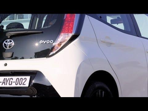(PL) Toyota Aygo 2015 - test i pierwsza jazda próbna