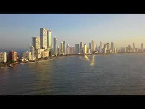 Cartagena Colombia with DJI Mavic Pro