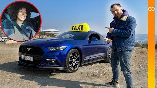 Sport Taxi გიორგი დანელიასთან -Ford Mustang