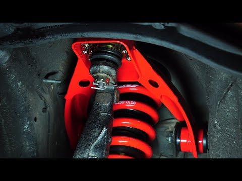 How to Replace Front & Rear Upper Control Arms (camber kit) and Toe Arms with Michael Flare