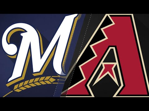 Four homers propel Brewers past D-backs, 8-2: 5/16/18