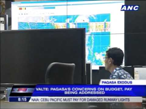Palace can't stop forecasters from leaving PAGASA