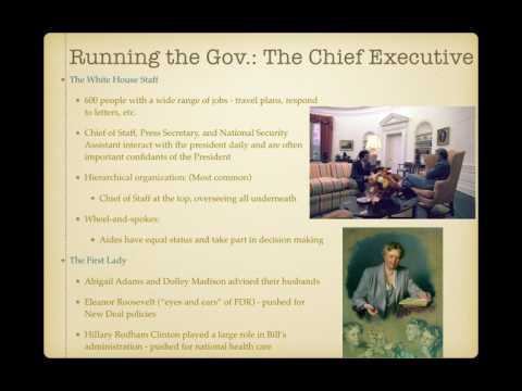 AP Gov Review: Government In America, Chapter 13