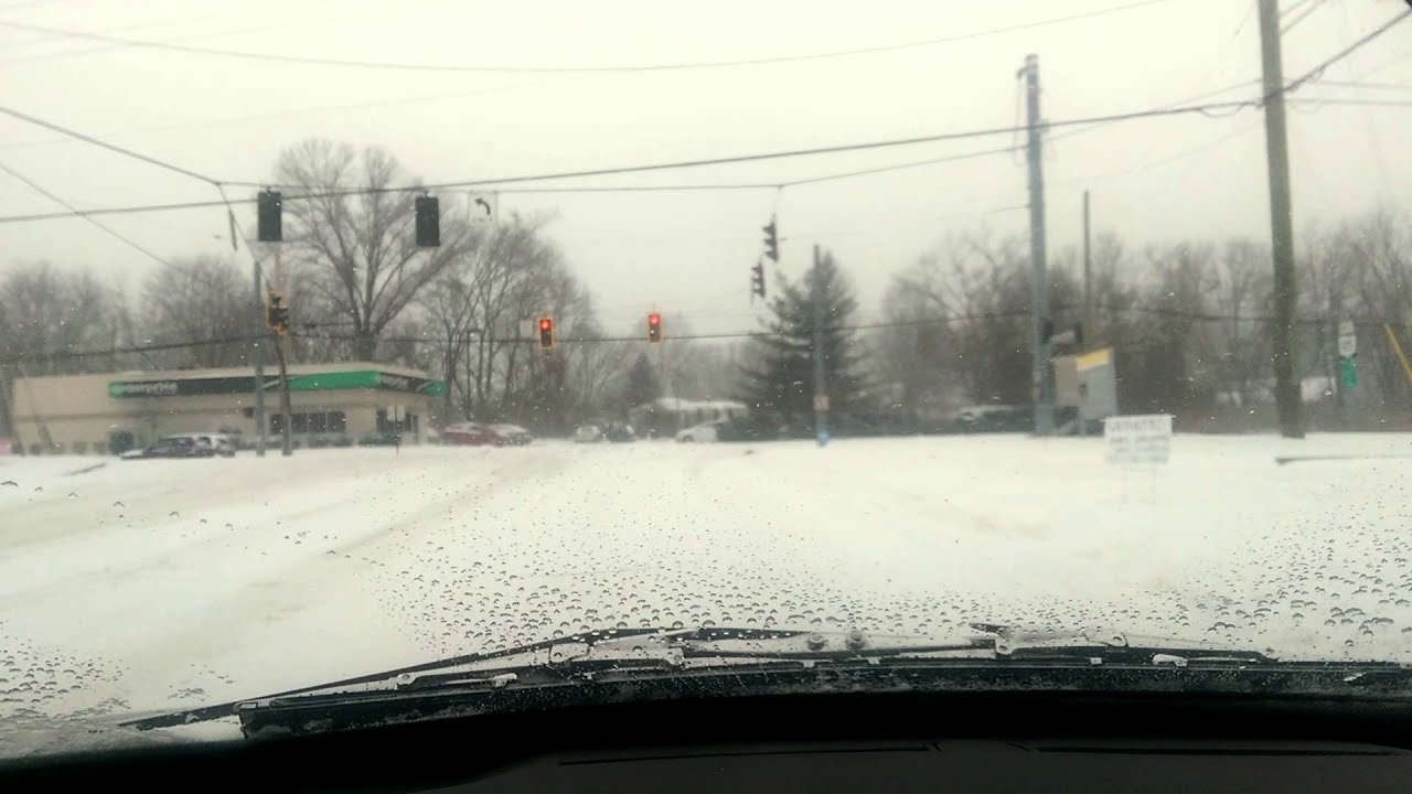 Snow Storm Cincinnati Ohio Part 2 Lifeisablog Com Youtube