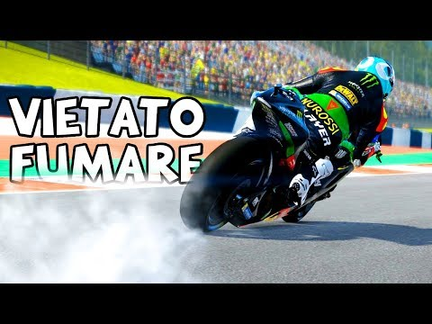 AMICO TRACTION CONTROL per consumare meno gomma - MotoGP 17