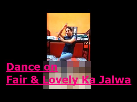 Mehroz Baig dance on Fair and Lovely Ka Jalwa - Jawani Phir Nahi Ani