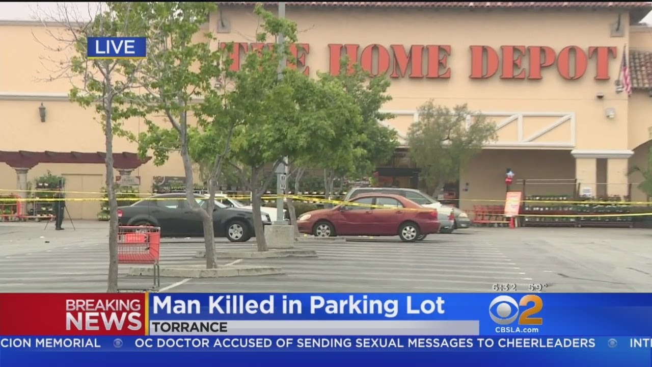 c16943c6277 Man Found Fatally Shot In Home Depot Parking Lot In Torrance - YouTube