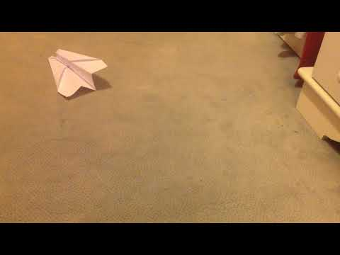 How to do Paper Airplane 1 (Slow Jet)