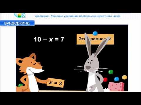 Как решить уравнение подбором