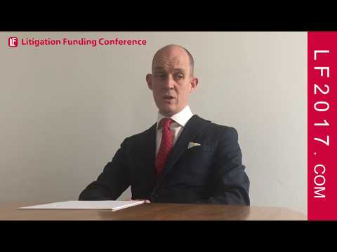Mark Deem, Partner at Cooley (UK) LLP on International and UK Litigation Finance LF2017 London