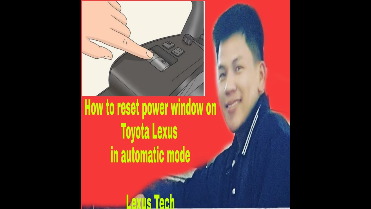 How to reset power windows, in to put on automatic mode, on Lexus Toyota. Lexus Tech