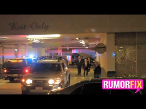 Whitney Houston's Body Leaves Beverly Hilton Hotel