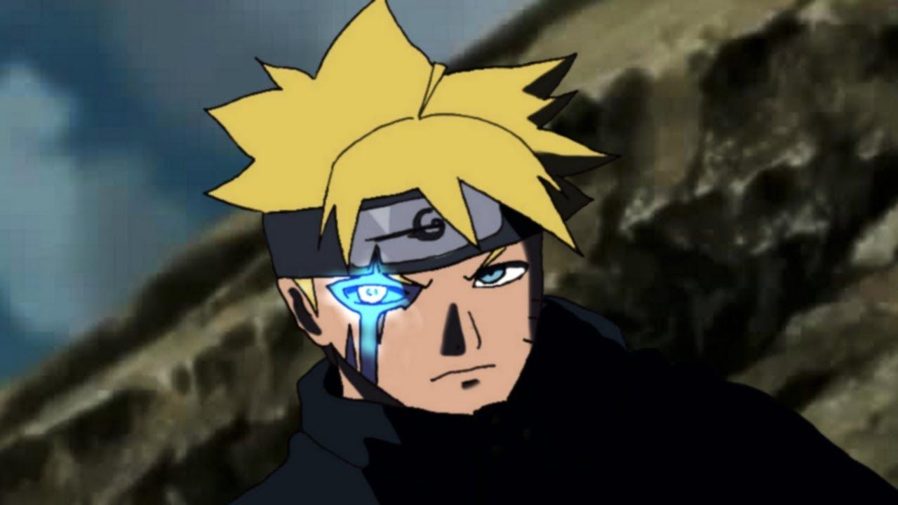 Adult Boruto Activates His Dojutsu Jougan Vs Kawaki Boruto Naruto Next Generations Speed Drawing Youtube