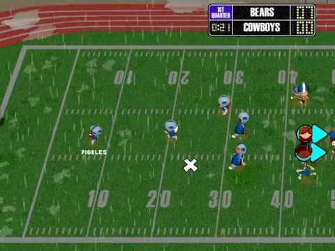 backyard football 2002 season playthrough divisional playoffs