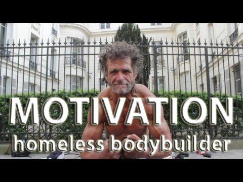 Мотивация! Бездомный бодибилдер // Motivation! Homeless Bodybuilder