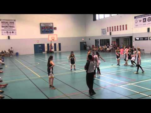 IISSAC 2016 Basketball Tournament FINAL GIRLS GAME (FULL VERSION)