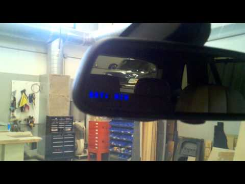 Stealth Escort 9500ci Radar Detector Install in X5