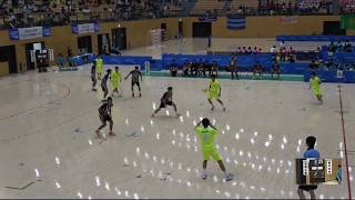 2018IH 男子ハンドボール 2回戦 岩国工(山口県)対 香川中央(香川県)
