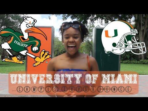 College Campus Tour #1 University of Miami (+School of Communications)