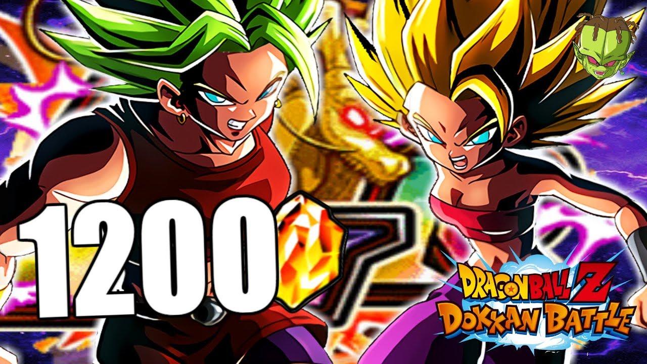 SUMMONS! 1200DS A POR EL MEJOR LR DEL JUEGO!   Dokkan Battle en Español - YouTube