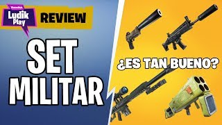 WEAPONS SET MILITAR: IS IT SO GOOD? FORTNITE SAVE THE WORLD SPANISH GUIDE
