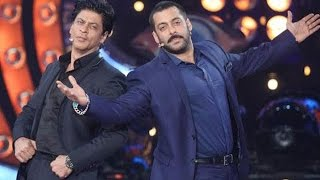 Salman Khan And Shah Rukh Khan Together Rides Bicycle and Have Fun Talk at Award Show 2017 HD
