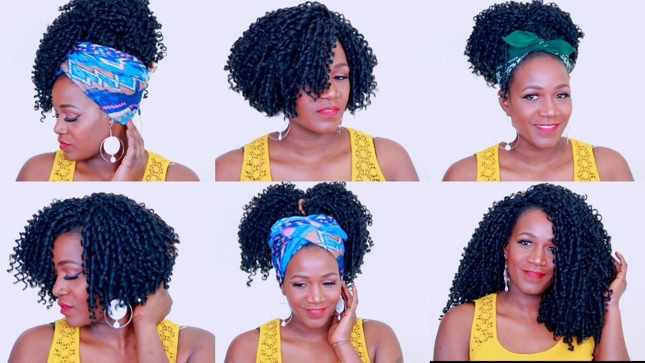 How To Style Soft Dread Crochet Braids  YouTube