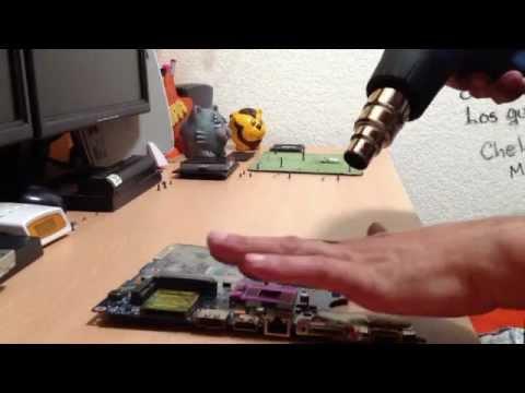 Calentamiento Chip de Video DV4