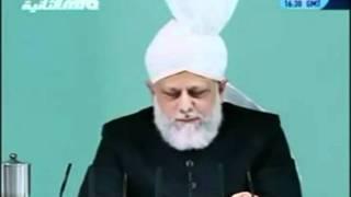 Проповедь Хазрата Мирзы Масрура Ахмада (22-10-2010)clip-7.flv