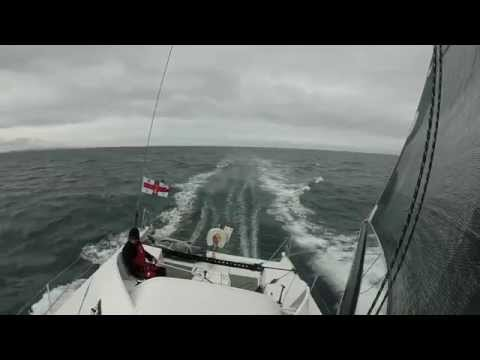 Round Britain & Ireland Race sur Brussels - Sail Away  Alexis Guillaume
