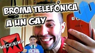BROMA TELEFÓNICA A UN GAY XD | BacalaoChungo