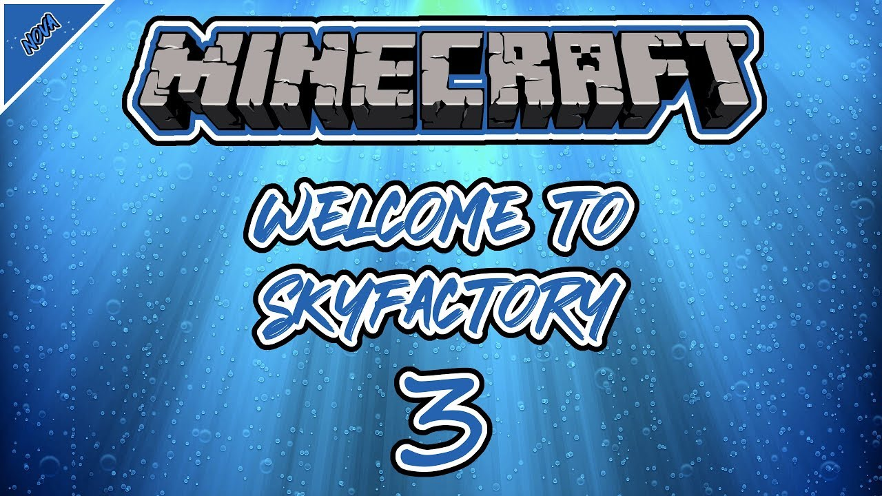 Minecraft - Welcome to Skyfactory 3 - EP  1