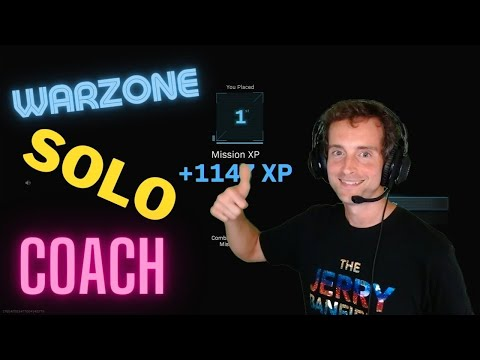 #1 Warzone Solo Coach to Watch for More Wins!