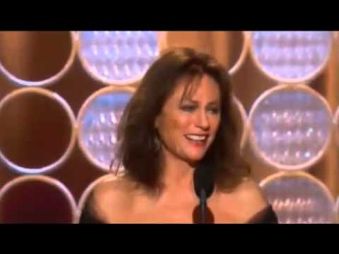 Jacqueline Bisset wins speech Golden Globe Awards 2014  HD