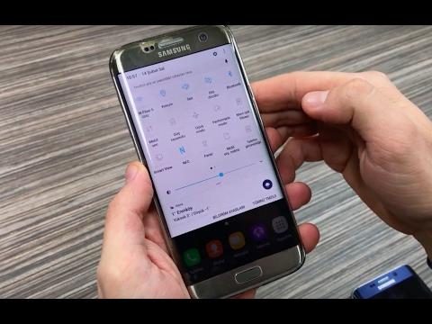 Galaxy S7 Edge Nougat güncellemesini yaptık! - Değişen arayüzü anlatıyoruz!