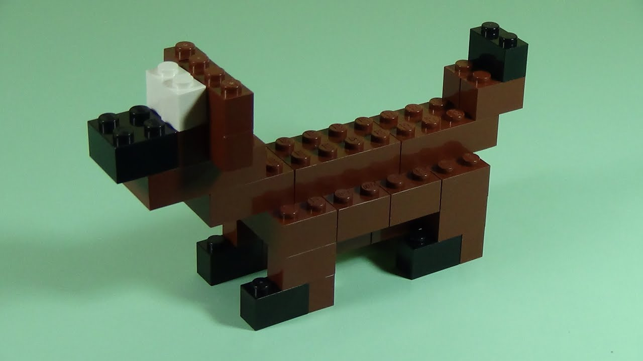 How to build lego dog 6177 lego basic bricks deluxe projects for how to build lego dog 6177 lego basic bricks deluxe projects for kids youtube solutioingenieria Image collections