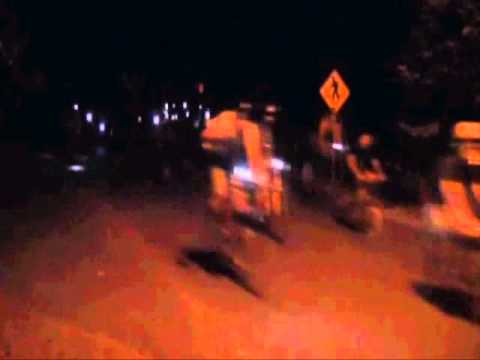 Crazy Zoobombing Cycling Event in Portland Oregon