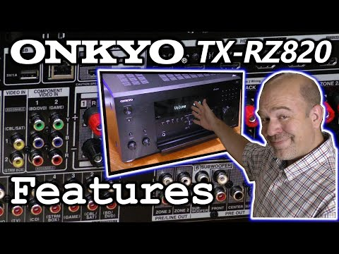 Onkyo TX-RZ820 Receiver Features | Enhance Your Home Theater!