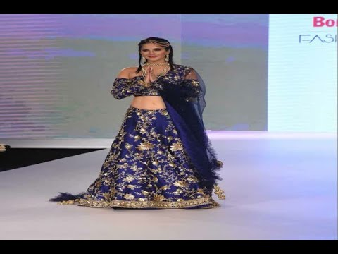 In Graphics: Sunny Leone walks the ramp at Bombay Times Fashion Week, View Pics