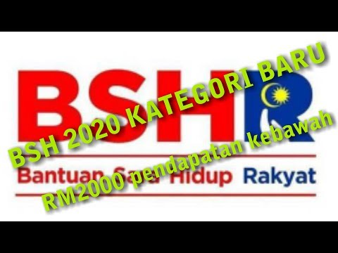 BSH/BR1M 2020 kategori baru