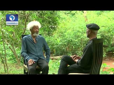 Authors Conversation: Ndibe Chats Nobel Laureate Wole Soyinka Pt.2  Channels Bookclub 